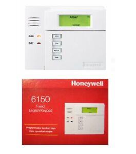 NEW NIB Honeywell Ademco 6150 Keypad Fixed English Display NIB New