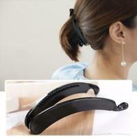 Plastic Twist Banana Clip Hair Grip 11cm Ladies Girls Hair Accessories L2T5