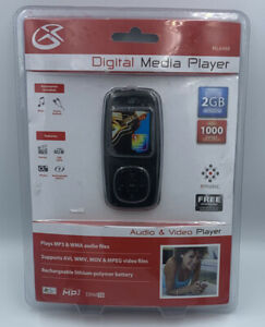 """GPX Digital Media Player 2GB Built In NEW ML648B Music Movies Photos 1.5"""" Color"""