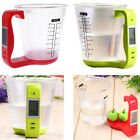 LCD Screen Digital Kitchen Food Scale&Measuring Cup 100-600ml 1000g Jug Scales  photo