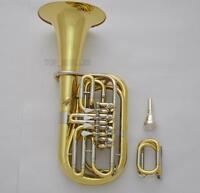 Professional Children 4 Rotary Valve F/Eb Tuba Horn 8.66'' Bell With Case