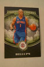 NBA CARD - Topps Treasury - The Money Skills - Chauncey Billups - Pistons
