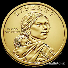 2019 D Native American Sacagawea Position B Business Strike from US Mint Roll