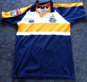 Rare Vintage Retro Brumbies ACT Australia Canterbury rugby shirt size L