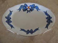 Vtintage ROYAL ALBERT Bone China NOVA SCOTIA TARTAN Pattern Oval Tray / Dish
