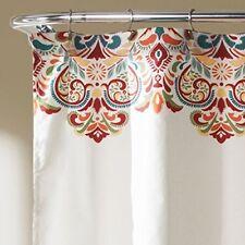 "Paisley Damask Shower Curtain Bathroom Art Decor Waterproof Polyester 72"" x 72"""