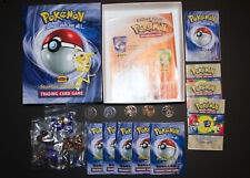 Vintage 1999 POKEMON Starter Gift Box Trading Card Game Replacement Pieces
