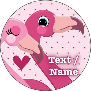 Flamingo Eßbar Torten-Bild-Aufleger Party Deko Geburtstag Personalisiert Neu