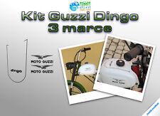 3 x pegatinas Moto Guzzi Dingo pegatina decal vinyl autocollant