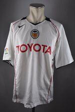 Valencia C.F MAGLIA 2005-06 HOME TAGLIA XL TOYOTA Jersey/Maglia Nike Maglietta