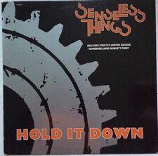 "Senseless Things - Hold It Down - Epic Records 12"" Single 657926 6 EX/VG+"