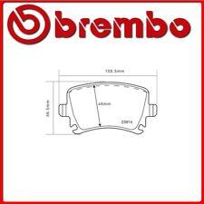 07.B315.22#466 PASTIGLIE FRENO POSTERIORE SPORTIVE BREMBO SPORT VW GOLF VI (5K1)