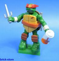 Mega Bloques nr. 03 / Tortugas Ninjas Mutantes SERIE 1 / Figura Raphael