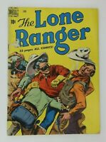 Vintage 1950 The Lone Ranger #24 Comic Book Dell