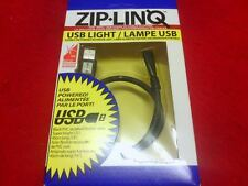 NEW ZIP LINQ NOTEBOOK LIGHT - USB POWERED! NIB (FREE SHIPPING)