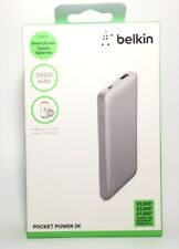 (NEW) Belkin Power 5000 5K mAh Portable Ultra Thin Battery Charger