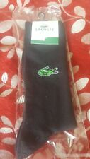 lacoste black socks