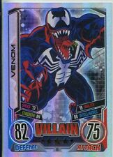 Marvel Hero Attax Series 2 Rainbow Foil Base Card #16 Venom