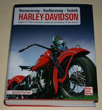 Restoration Manual Harley Davidson 1937 - 1964 by Bruce Palmer on German