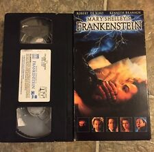 VHS-Mary Shelley's Frankenstein(VHS,1995)Robert De Niro