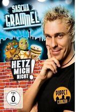 SASCHA GRAMMEL - HETZ MICH NICHT! (DIE KÜRZER-GEHT'S-NICHT-VERSION)  DVD NEU