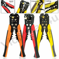 Self Adjustable Automatic Cable Wire Crimper Crimping Tool Plier Stripper Cutter