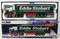 Corgi 1/50 Scale CC13749 - Scania R Curtainside Trailer Ireland - Eddie Stobart