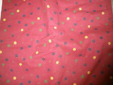 NEW Valliant for QST 2000 material fabric marroon color with dots & stars 3 lbs