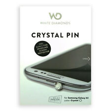 White Diamond Screen Protector Clear HD Crystal Pin for Samsung Galaxy S3