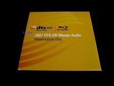 DTS HD-MA 5.1, 7.1 Ultimate Demo #11 Genuine Blu Ray Disc CES 2007 Rare!