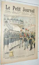 PETIT JOURNAL 1904 MARINE FRANCE ROI GRECE SUFFREN / MASSENA A WAGRAM 1809