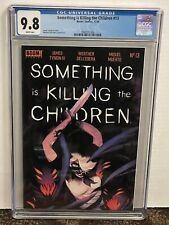 Something Is Killing the Children #13 A CGC 9.8 1st Maxine Slaughter White Pages