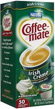 New listing Coffee-mate Liquid Creamer Singles - Irish Creme - 50 ct