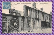 CPA - 60 - CREIL - Houses Bombed