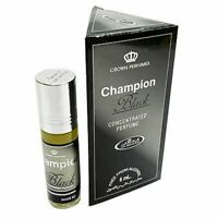 Champion Black By Al Rehab perfume 6 ml 100% Original Buy 3 Get One Free