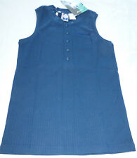 LOTTO Tennis Italiano Womens Canotta Tennis Blouse Shirt Top, Blue, Size L, NWT