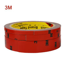 3M x 6,10,20 MM Vehicle Double Sided Sticker Car Adhesive Acrylic Foam Tape