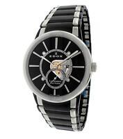 Edox Les Bemonts Slim Swiss Made Men's Mechanical Hand-Winding Watch $2775 NEW