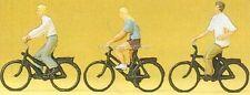 H0 Preiser 10336 Radfahrer. Figuren. OVP