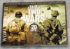 A Tale of Two Wars: World War 2 II (WWII ) And Vietnam - 20 DVD Box Set SEALED
