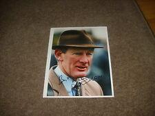 Arthur Moore Irish Horse Racing Trainer 19/01/97 Hand Signed Press Photo