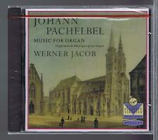 PACHELBEL CD NEW MUSIC FOR ORGAN WERNER JACOB