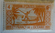 French Oceania 1934-38 Stamp 4 MNH Stamp Rare Antique StampBook1-86