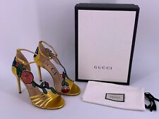 Neu Luxury Original GUCCI Pumps Leder-475082 Gr-37,5 /UK-4,5/US-7,5  LP-€1.190