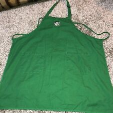 Starbucks Coffee Barista Green Apron Authentic Pre Owned