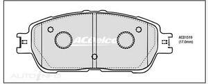 Front Brake Pad Set DB1519 ACDelco ACR30R 2AZFE Pads for Toyota Tarago Delco