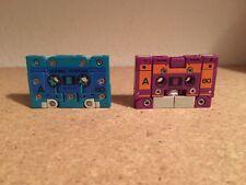 Vintage G1 Transformers Cassette Combiner Squawktalk & Beastbox - Squawkbox