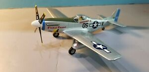 """ARMOUR (98007) USAAF P-51D MUSTANG """"FICKLE FANNY"""" 1:48 SCALE DIECAST METAL MODEL"""