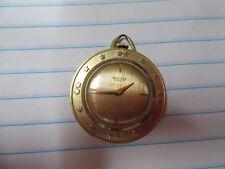 Rotary International 18 k gold pendant watch vintage 1958 Sarcar Geneve