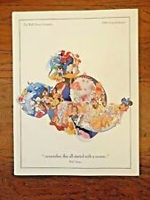 The Walt Disney Company 1993 Annual Report Paul Wenzel Collectible Mouse Cover